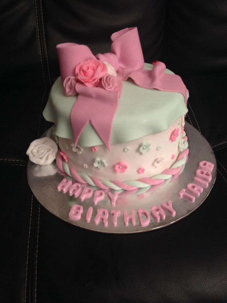 Bow cake for my aunty