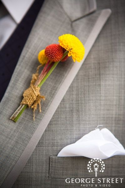 Lovely autumn-inspired boutonniere. http://go.georgestreetphoto.com/l/9752/2013-09-05/fvp9m