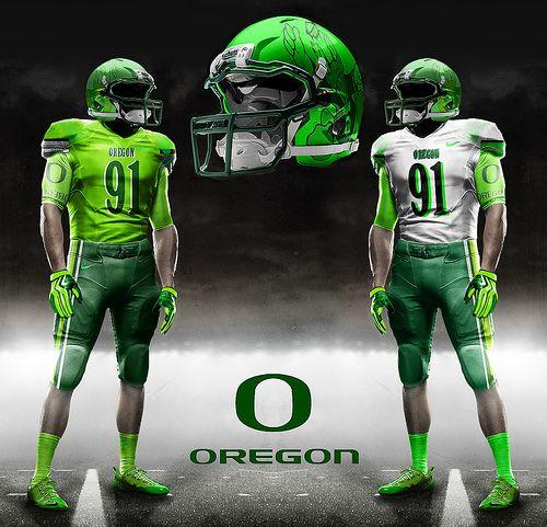 Oregon Ducks Backgrounds: Awesome Football Uniforms
