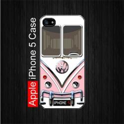 Pink Volkswagen Camper Van iPhone 5 Case. Price just only $22.5