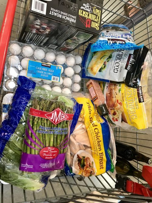 9ee8b6dffb0 Shopping at Costco - Whether for 1 or a family My Shopping Cart full of  healthy choices, recipes to cook with the food and tips not to overbuy.