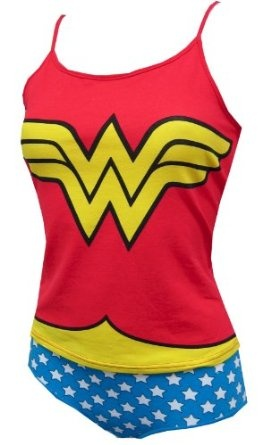doesnt every girl want a chance to show that she's wonder woman?