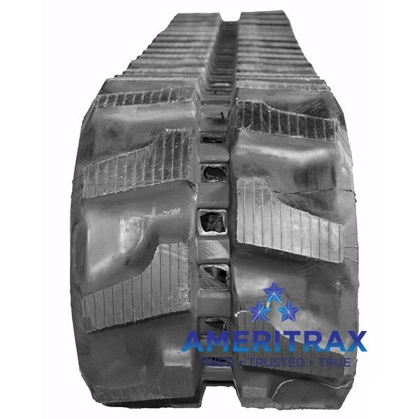 Bobcat E35-1 rubber tracks. Ameritrax can ship your new rubber tracks to your location. Call us direct at 888-612-8838