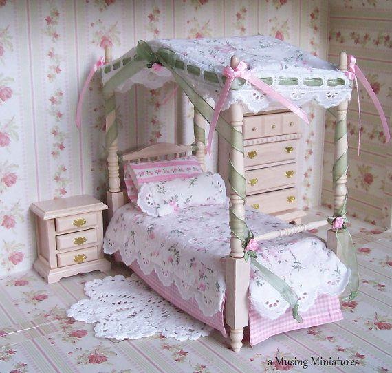 Miniature Shabby Chic Bedroom