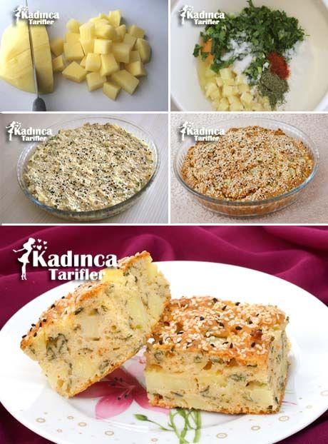 Patatesten Pratik Börek Tarifi