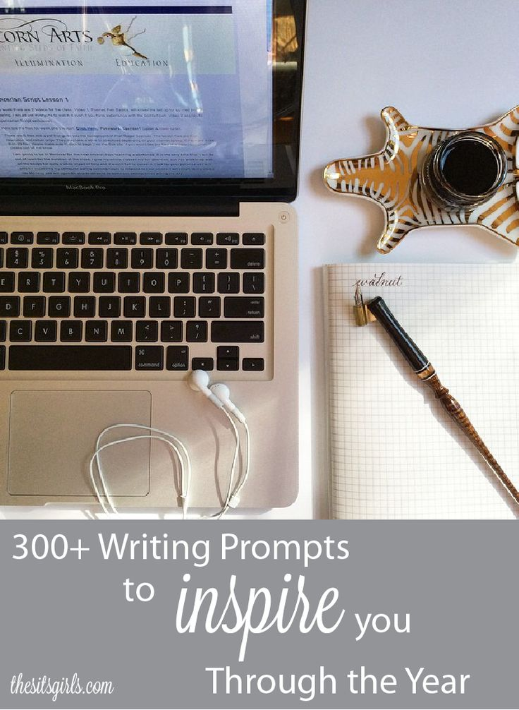 Jumpstart your blog with writing prompts for every day of the year!