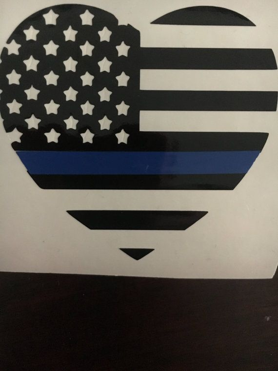 Thin blue line decal, police officer decal, police wife, police gift, police graduation,gift for police, police decal,police gear, decal