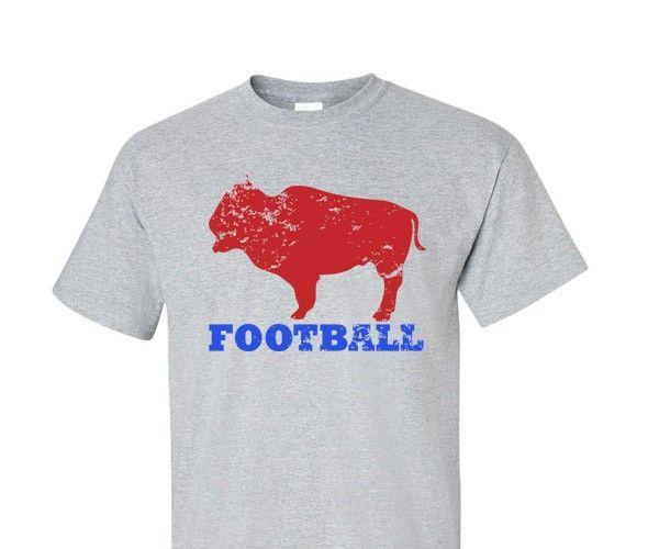 20 best buffalo bills football t shirts images on for Custom t shirts buffalo ny