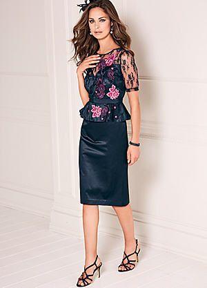Peplum Dress #kaleidoscope #fashion #wedding #MOTB
