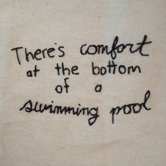 swimming pool - the front bottoms