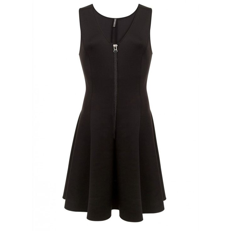 Petite robe noire patineuse Naf Naf