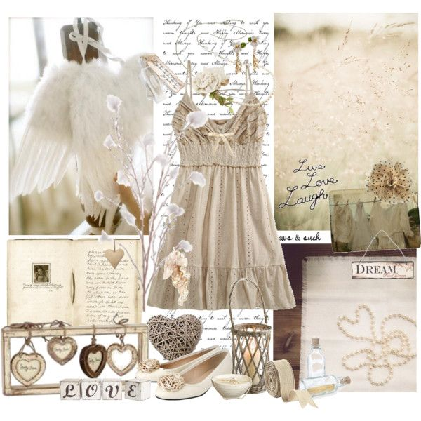 Wings by chani on Polyvore featuring Miss Selfridge, Les Néréides, Ballard Designs, Bocage and Shabby Chic