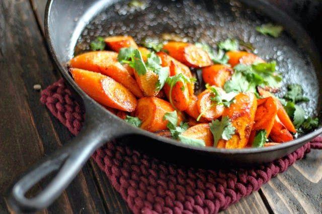 Веганский Нежданчик: Морковь с карри и кинзой