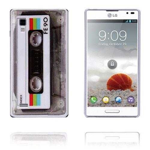 Kassette (Hvid) LG Optimus L9 Cover