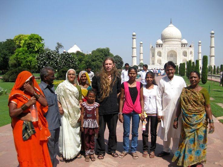 Indie ,Taj Mahal...Krzysztof Łozowski