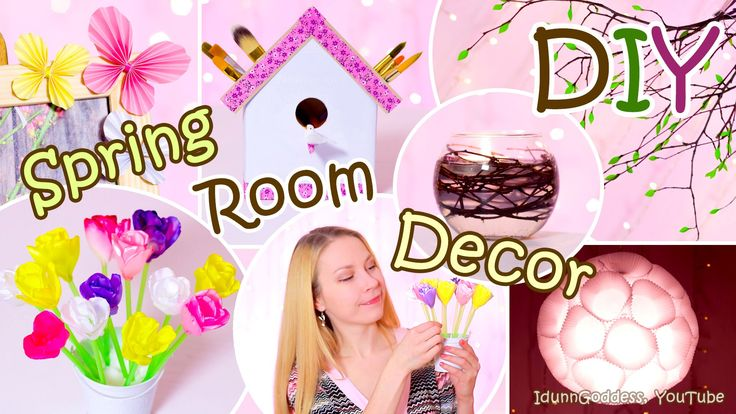 5 DIY Spring Room Decor Ideas – Easy DIY Room Decorations For Spring