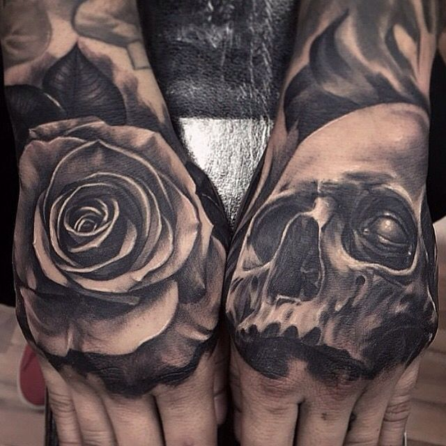 17 Best Ideas About Skull Hand Tattoo On Pinterest Clever Tattoos