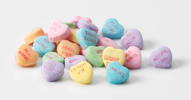 These little conversation hearts have been around for 147 YEARS! Here are a few of the phrases that have been nixed from the bunch...
