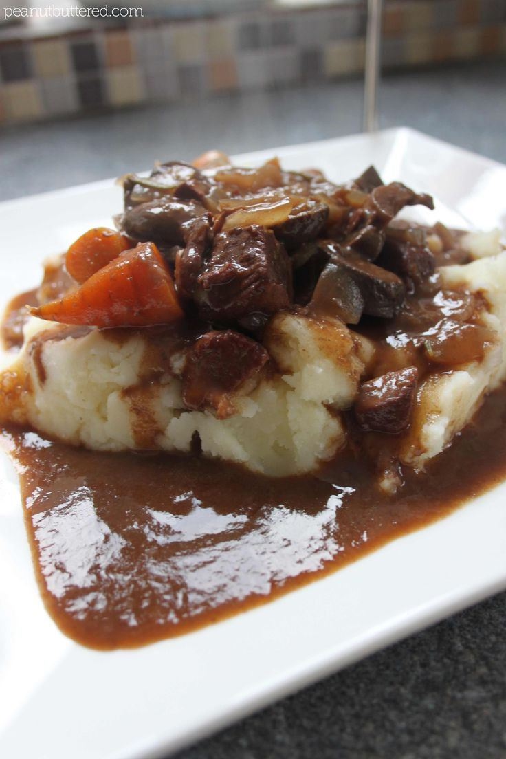 slow-cooked lamb stew