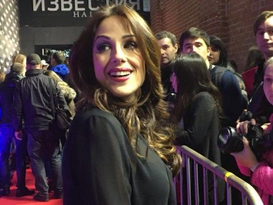"""IRA LOSCO AT THE RUSSIAN EUROVISION PRE-PARTY: """"THERE'S A BIT MORE RESPONSIBILITY THIS YEAR""""   Walking on water — and the red carpet  #eurovision #eurovision2016 #iralosco  http://www.casinosolutionpro.com/eurovision-betting-odds.html"""