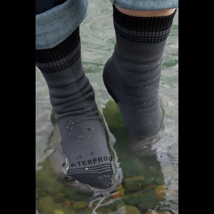 Some Waterproof socks to go with your waterproof shoes  Crosspoint Waterproof…