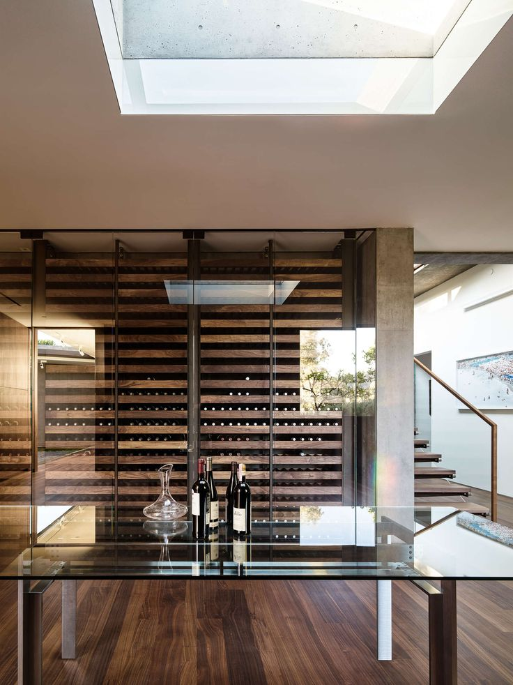THIS is the WINE ROOM!!!    Architizer