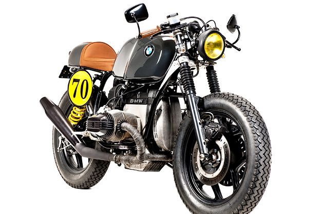 Custom BMW R80 police bike
