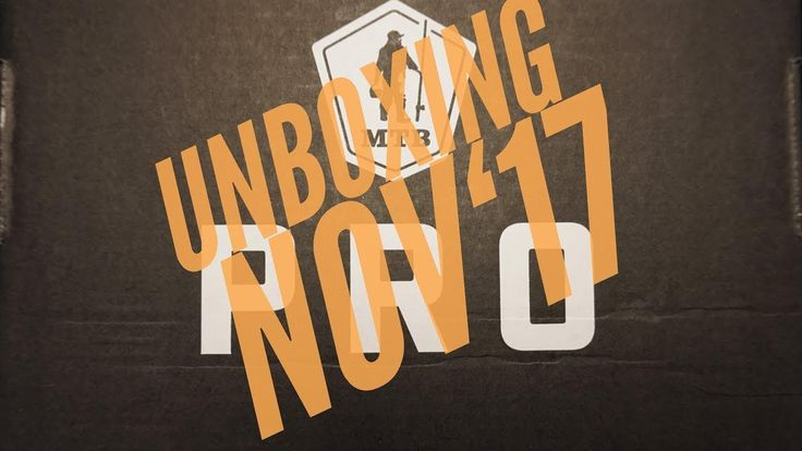 Mystery Tackle Box Pro Unboxing November 2017