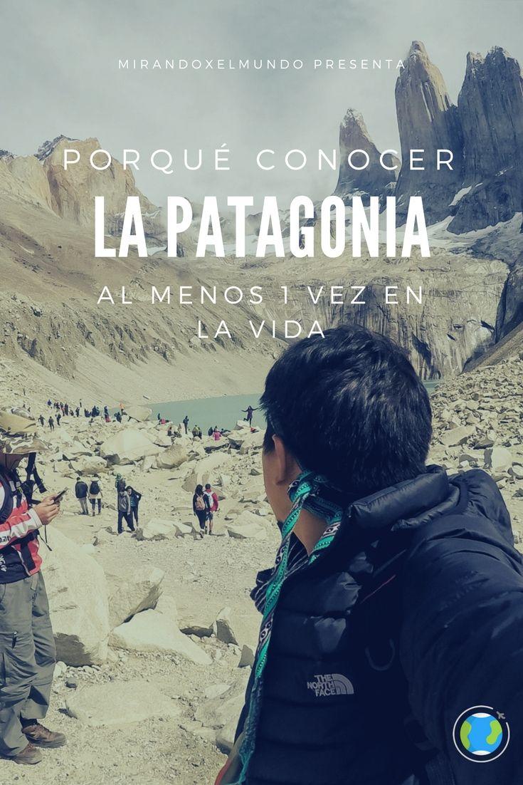 """¿Te imaginas tomarte un wiski """"on the rocks"""" ni más ni menos que con hielo directo de un glaciar? La Patagonia no es solo frío o nieve, es un lugar perfecto para los amantes del senderismo, no en vano podemos encontrar aquí a la """"capital mundial del trecking"""" (la ciudad de """"El Chaltén"""") donde puedes agotarte de caminar por horas pero respirando naturaleza al 100%. #patagonia #argentina #chile #torresdelpaine #peritomoreno #trekking #mirandoxelmundo #lapatagonia #elchalten #rutaw"""