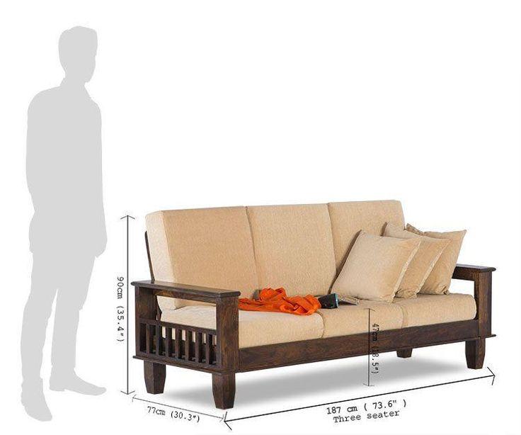 Solid Wood Jodhpur Sofa Set