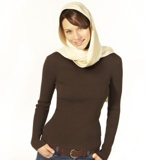 ISOTONER Women's Knit Hood Wrap Scarf | scarves in Black ...