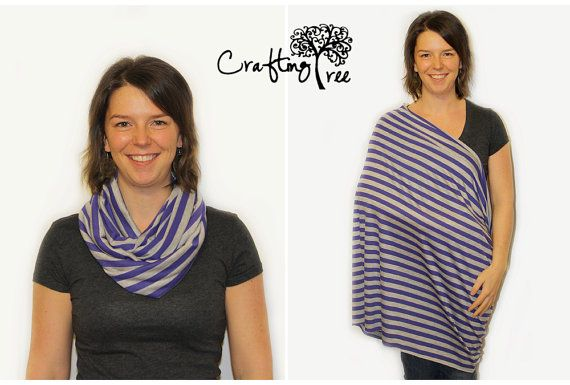 Ships Now  Nursing Scarf Nursing Cover Infinity by CraftingTree, $20.00