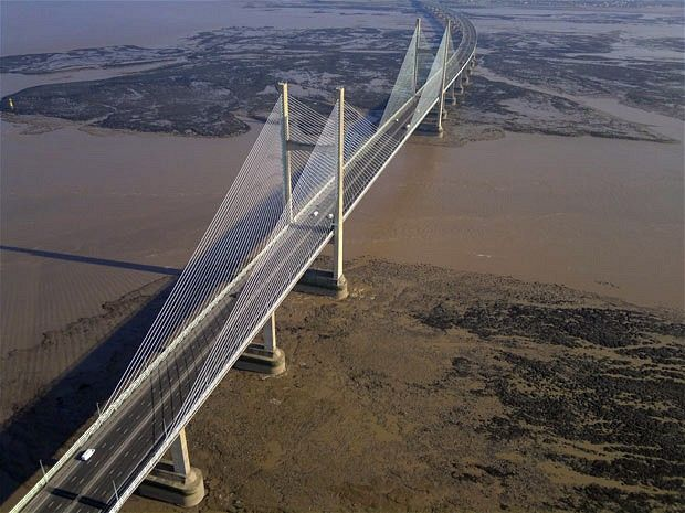 The Severn Bridge, connecting England and Wales