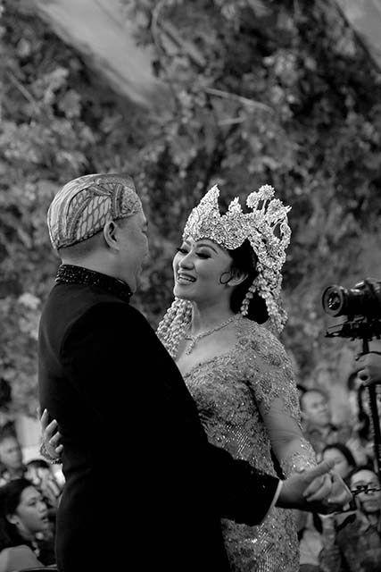 Pernikahan Adat Sunda Allyssa dan Candi di Jakarta