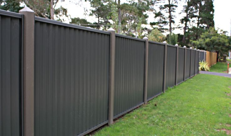 Different Types Of Yard Fences Colourbond Large 4 Jpg
