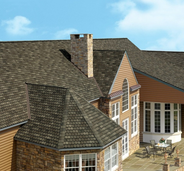 Oak Roof Shingles : Best images about shingle roofing on pinterest church