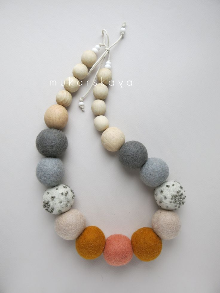 felt necklace                                                       …