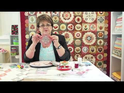 Ep 2 Sue Daley's Shape Up English Paper Piecing School - Using Six Pointed Stars - YouTube