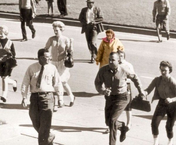 The Babushka Lady never came forward. She was found in many of the CIA photos with a camera of her own. taking shot before, during, and after the shooting of JFK