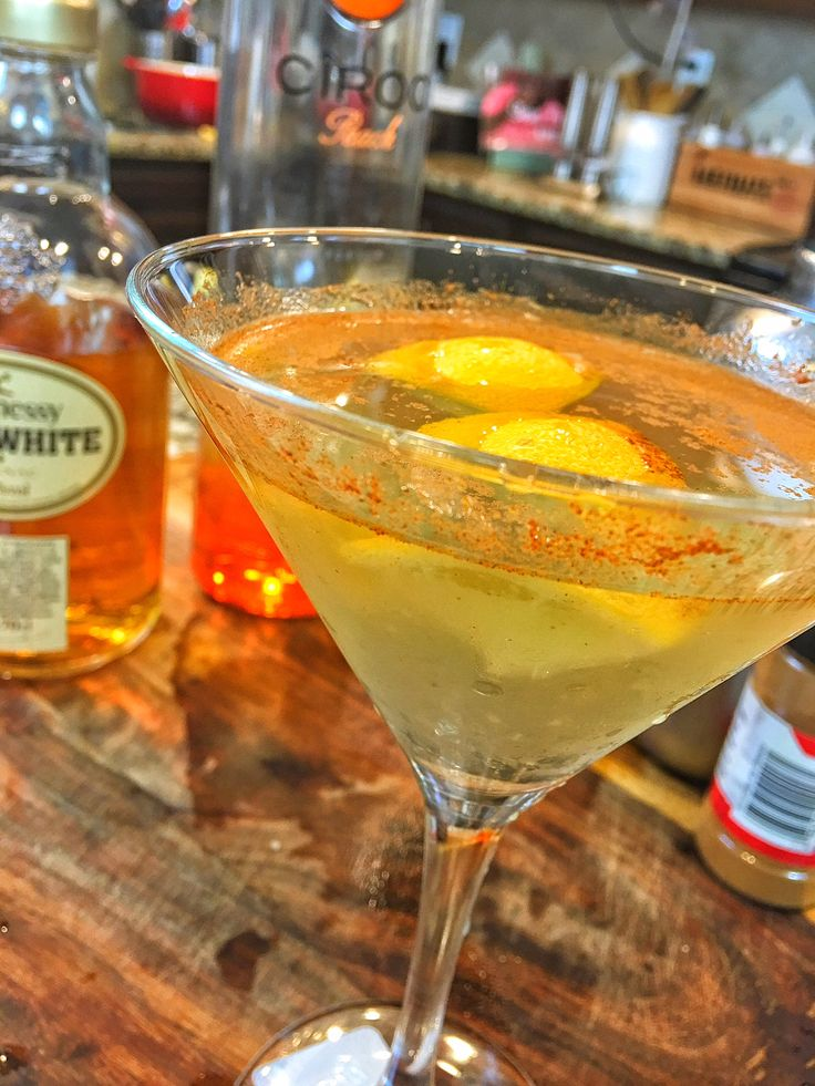 White Hennessy Peach Martini | Black Food Network