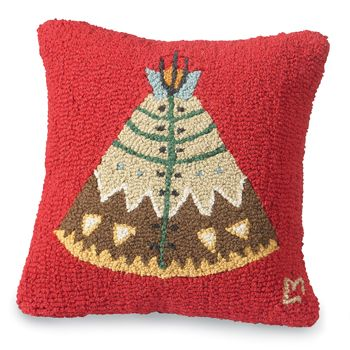 Tee Pee pillow...Z's cowboy room