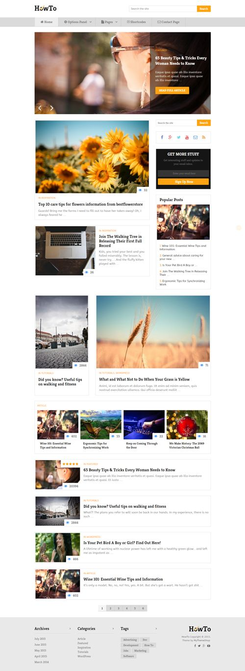 HowTo Theme | MyThemeShop #wordpress #theme #template #blogging #website #online #business