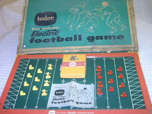 Electric football gameElectric Football, Football Games
