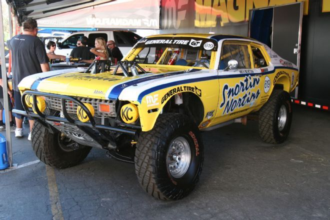 View Off Road Expo 2014  11  Azunia Tequila Snortin Nortin Chevy Nova NORRA Mexican 1000 Rally Race Car Mick Newton - Photo 77410268 from Coolest Trucks, Jeeps and 4x4s of the 2014 Off-Road Expo