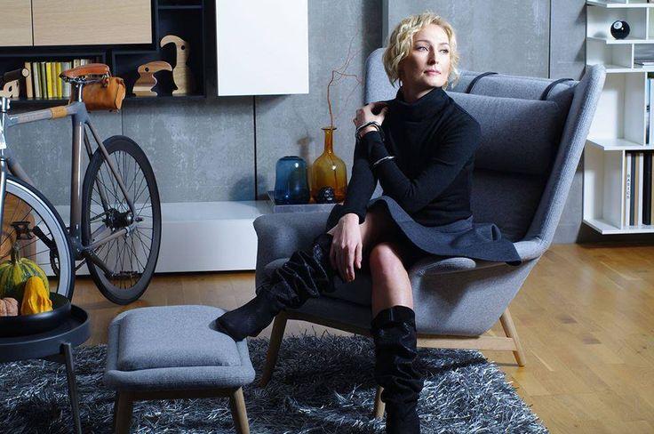 Anita Lipnicka podczas sesji dla magazynu Miasto Kobiet w bransoletce z kolekcji Ania Kuczyńska for YES! Stylizacja: Konrad Fado / conradofado.com Fotografia: Katia Serek photo  www.YES.pl/kolekcje#wszystko/aniakuczynska #bizuteriaYES #bracelet #AniaKuczynska #silver #beautiful #jewellery #polishbrand