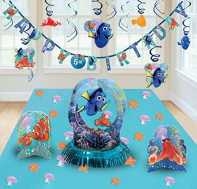 Finding Dory Party Supplies - Finding Nemo Party - Party City