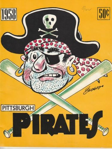 Vintage-1958-Pittsburgh-Pirates-Yearbook-Roberto-Clemente-Mazeroski