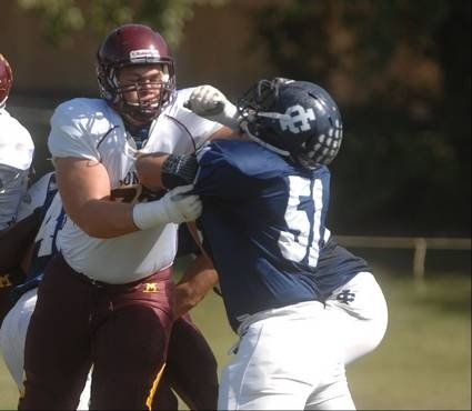 Images from Immaculate Conception vs. Montini in Saturday high school football