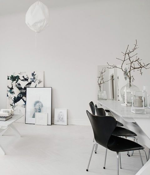 32 More Stunning Scandinavian Dining Rooms: 197 Best Dining Rooms Images On Pinterest