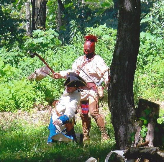 Native Woodland Plants: Washington's Soldiers And The Iroquois Ambush Jumonville's
